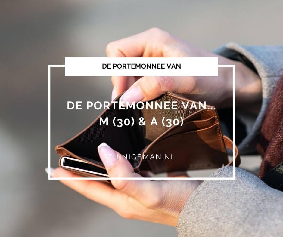Kasboek verhaal van M (30) & A (30)  3800 euro salaris per maand