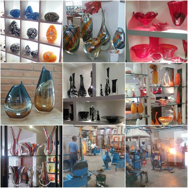 Dicas para curtir Poços de Caldas - lojas de vidros coloridos