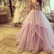 long mauve deep pink tutu gown