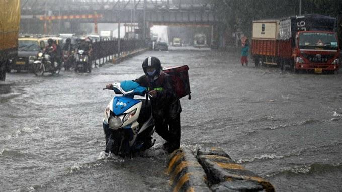मुंबई में मानसून की शुरुआत, बहुत भारी बारिश की संभावना