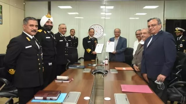 Indian Navy signs MoU with IIT Delhi to research in underwater domain of Naval Electronic Systems