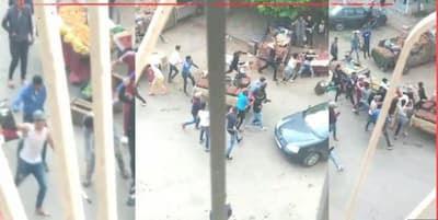معركة بالسيوف و السواطير موثقة بالفيديو قبل الإفطار تثير الرعب و تستنفر المصالح الأمنية