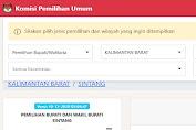 Cek Hasil Real Count Pilkada Sintang 2020