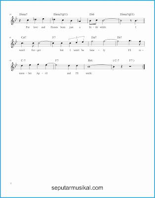 i'll remember april 2 lagu jazz standar