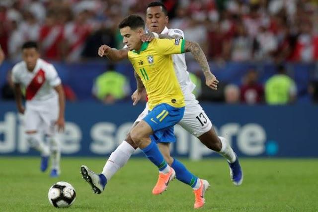 Brasil vence o Peru e é campeão da Copa América 2019