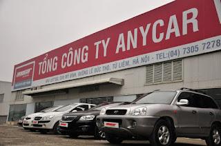 Anycar trang web mua bán xe ô tô cũ lớn nhất hiện nay