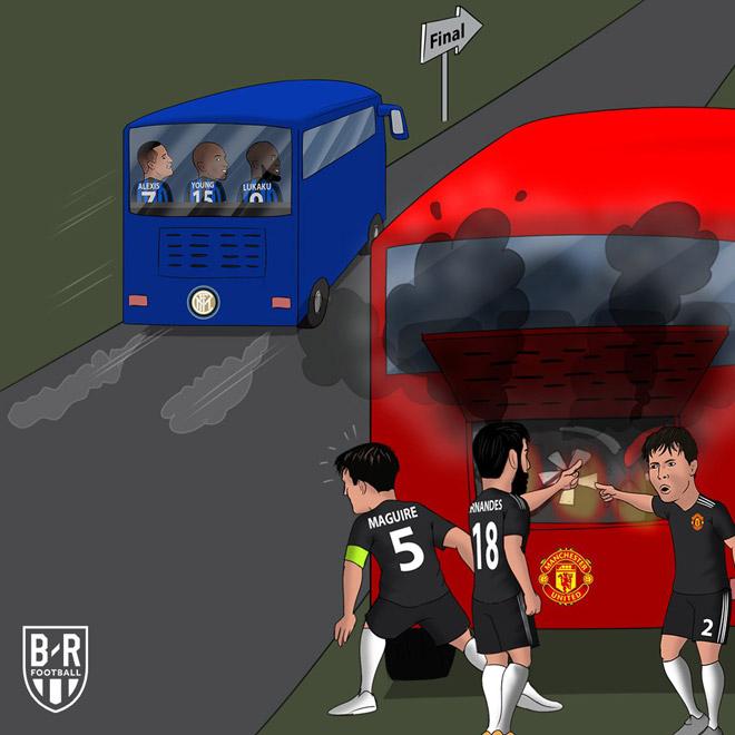 """Lukaku cú đúp, Inter đại thắng: Báo chí """"đá xoáy"""" MU, Solskjaer muối mặt 3"""