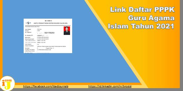 Link Daftar PPPK Guru Agama Islam Tahun 2021