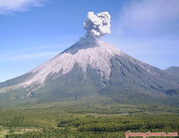 daftar nama gunung di indonesia beserta letaknya