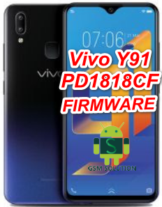 Vivo Y91 PD1818CF Offical Stock Rom/Firmware/Flash file Download