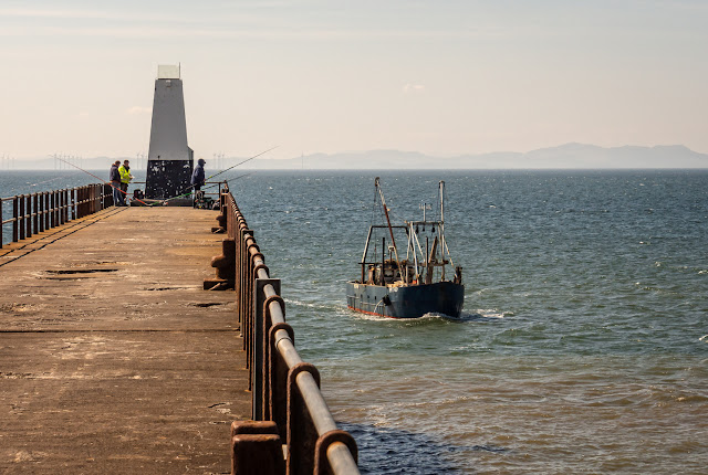 Photo of Solway Prospector returning to Maryport