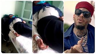 (بالفيديو) إصابة والدة سواغ مان بجلطة قلبية