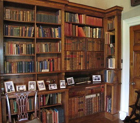 Killerton House, Devon, Library