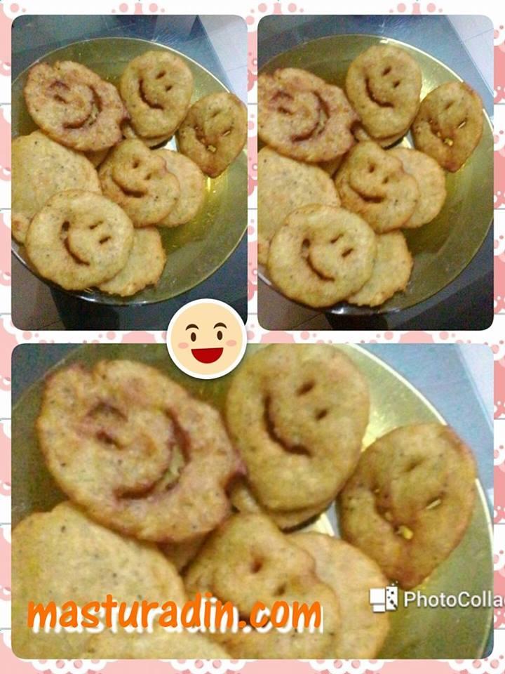 resepi kentang smiley icon, senyum seindah suria, senyum itu sedekah, cara-cara membuat, step. bahan-bahan