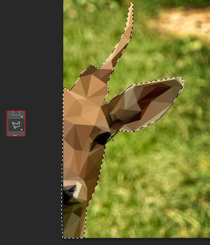 low poly photoshop, photoshop tutorial