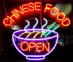 Buy Open Chinese Food Neon Sign