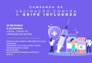 Campanha Nacional de Vacinação contra a Influenza