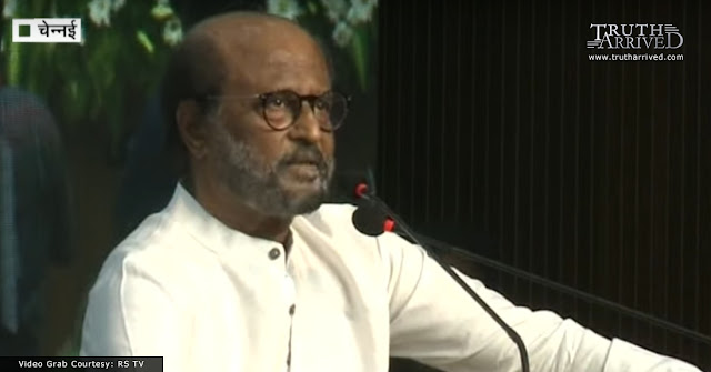 "Superstar Rajnikanth praises Modi and Shah for ""Mission Kashmir Operation"", says they are like ""Krishna-Arjuna Combo"" - Truth Arrived News"
