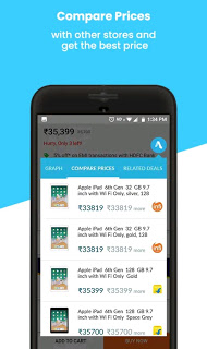 Buyhatke Online Shopping Assistant App for Price caution, history and offers
