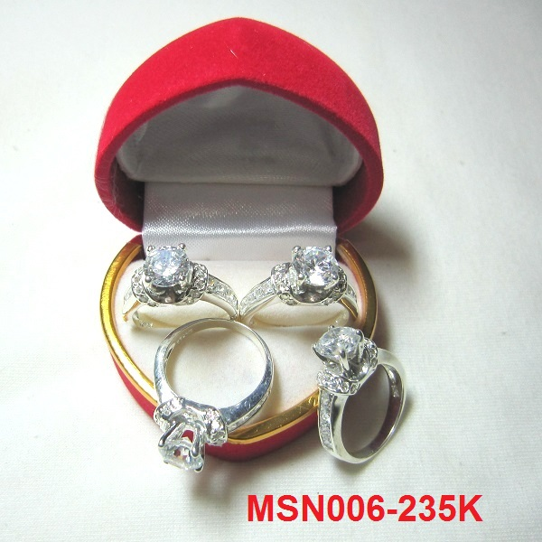 TrangSuc.top - Nhẫn đính đá trắng cao cấp MS-N006 - Giá: 235,000 VNĐ - Liên hệ mua hàng: 0906 846366(Mr.Giang)