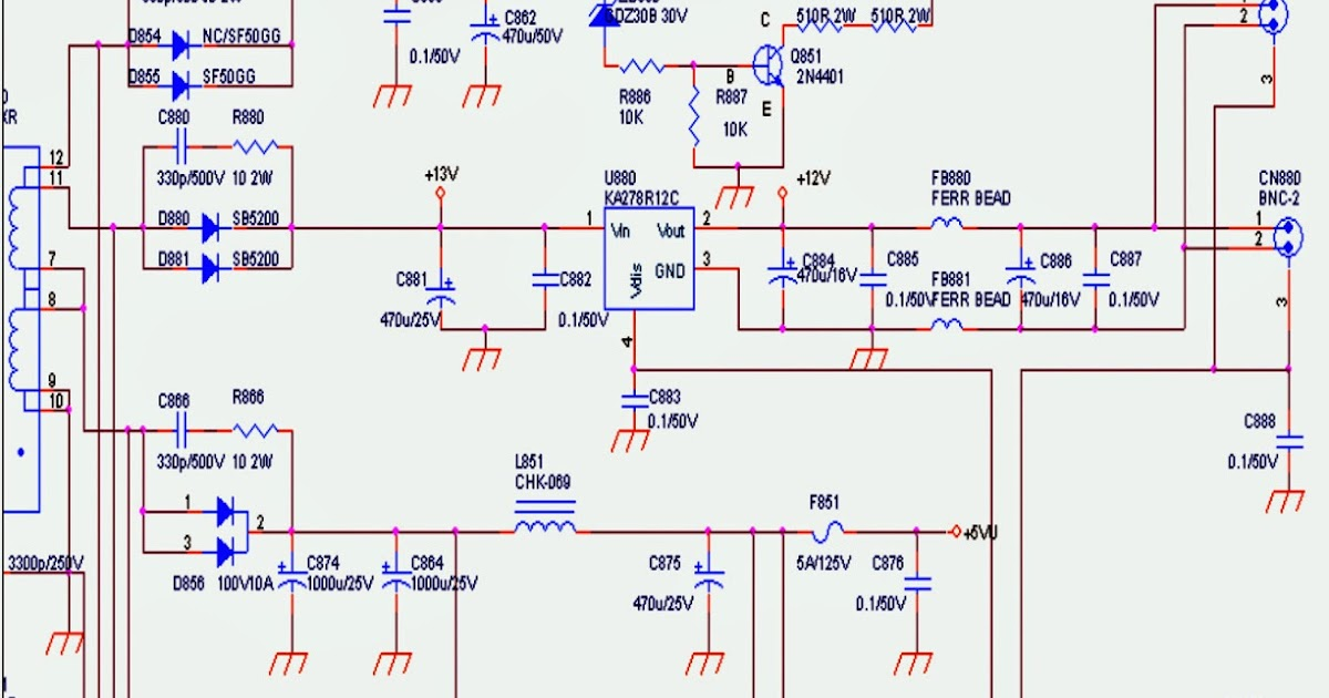 Dell Power Supply Schematic Diagram