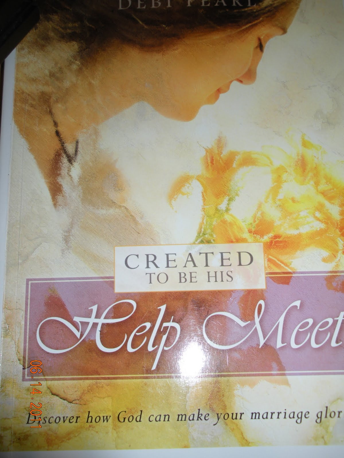 created to be his help meet scripture