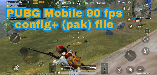 PUBG mobile 90 fps config (game_patch_1.3.0.14924.Pak) file   Ultra HD sound