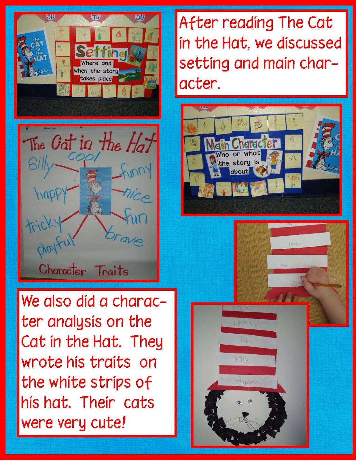 Golden Gang Kindergarten Dr Seuss The Cat In The Hat