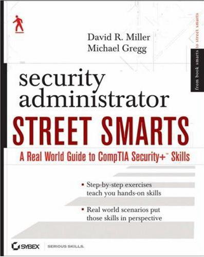 Security Administrator Street Smarts, Sybex