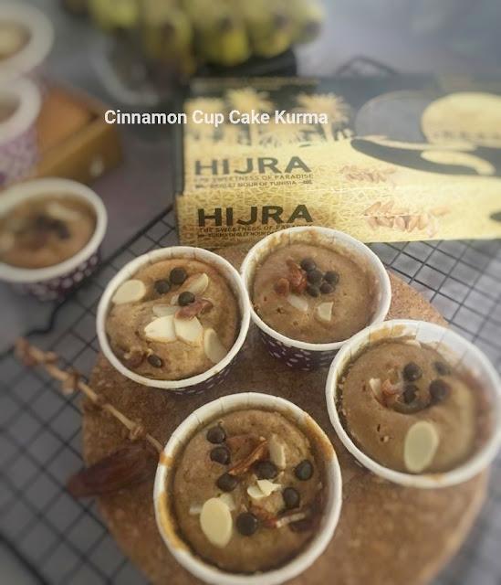 Cinnamon Cup Cake Kurma