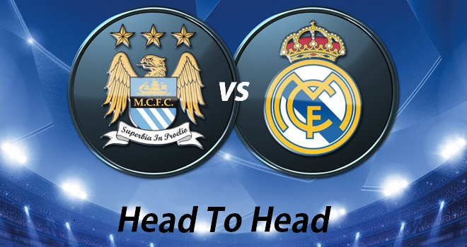 Real Madrid Vs Manchester City Head To Head Record In History
