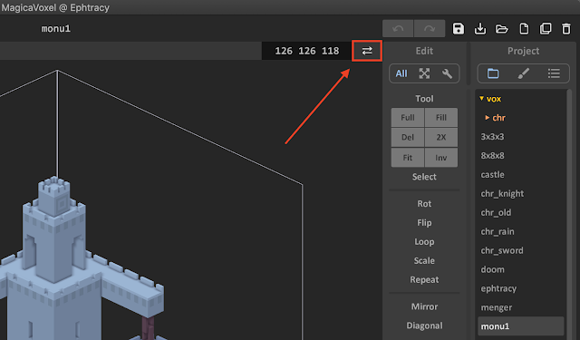 How to Open the World Editor in MagicaVoxel