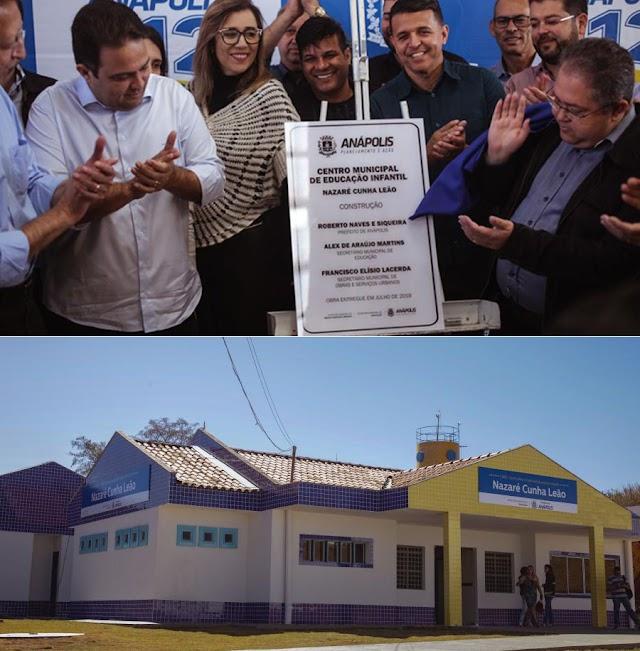 Anápolis: Prefeitura entrega Cmei com 190 vagas