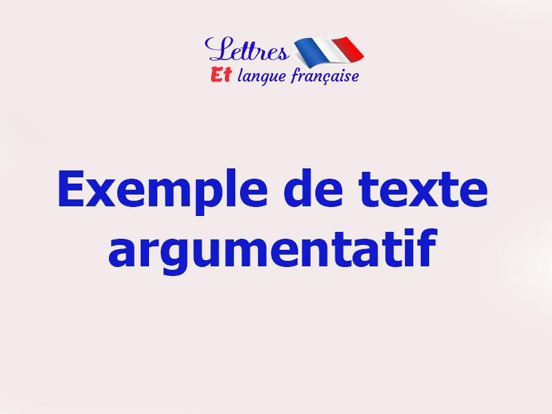 Texte argumentatif sur le téléphone portable