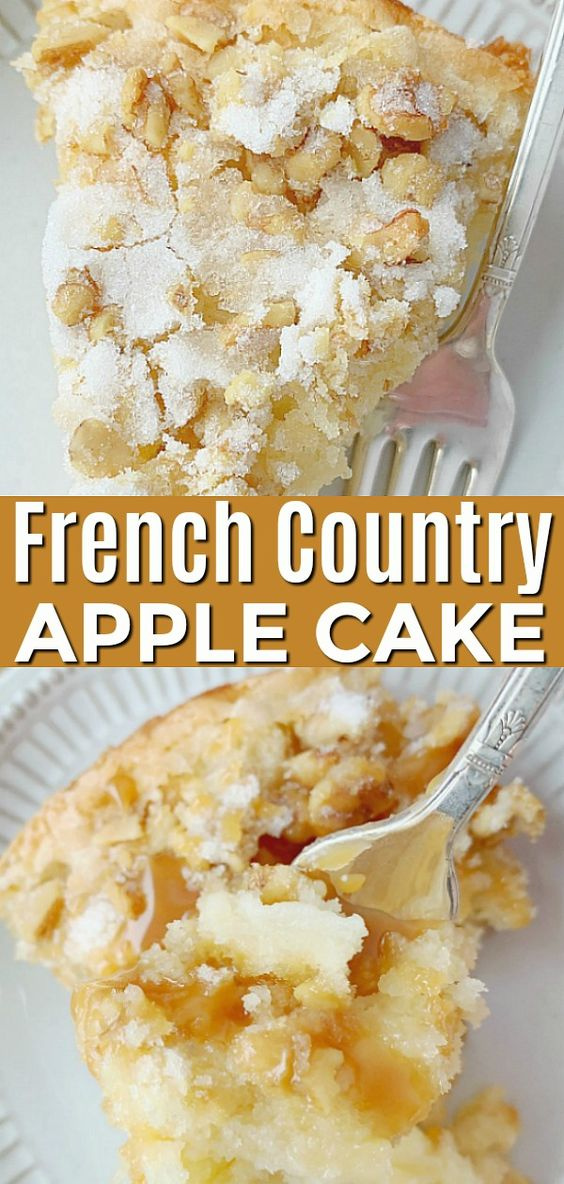 French Country Apple Cake