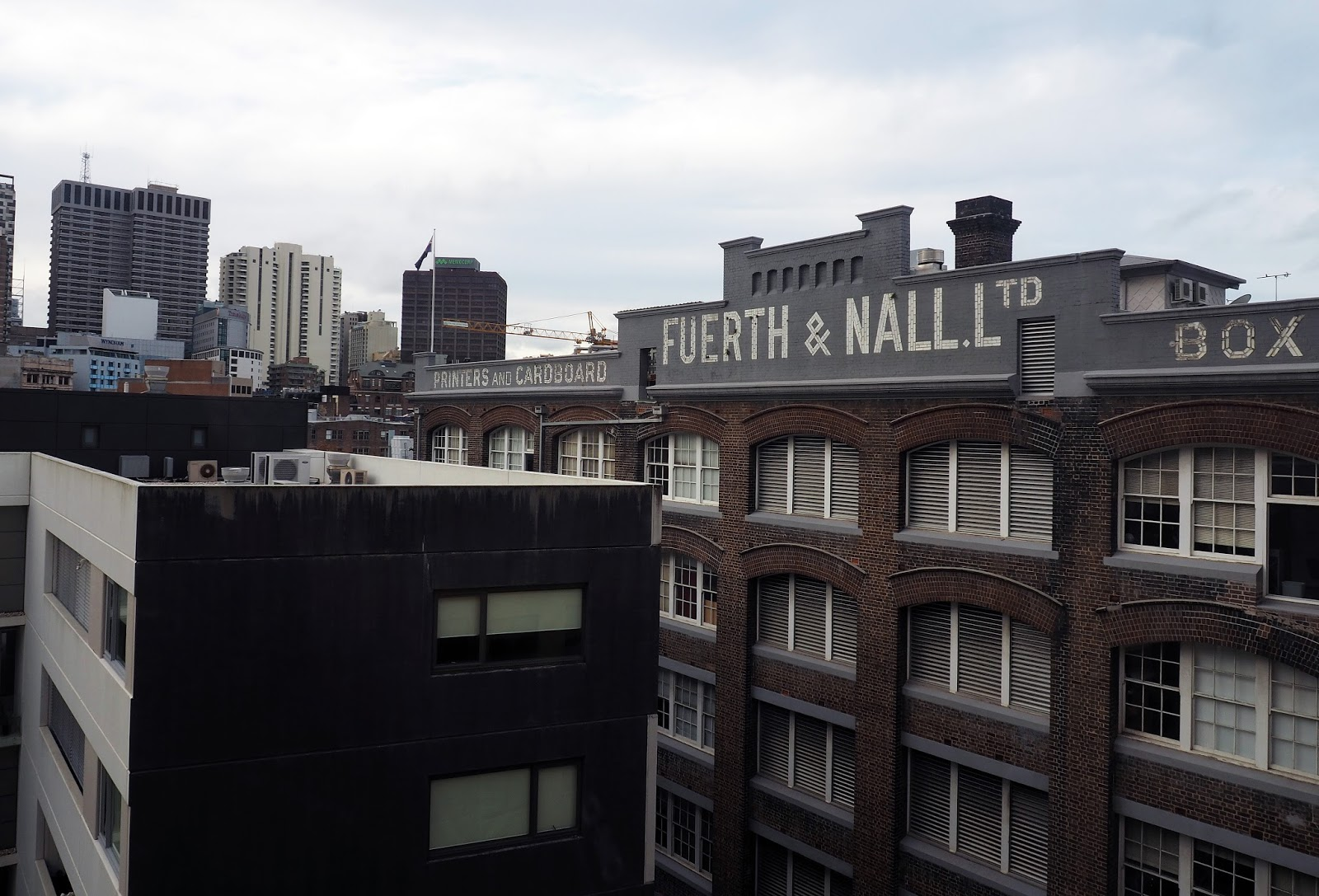 Views from room at Rydges Sydney Central