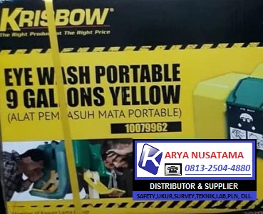 Jual Eyewash Portable Krisbow 011179962 di Kalimantan