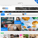 AeroMag 1.1 Premium Free Responsive News & Magazine Blogger Template Download