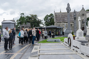 Visit of the Glasnevin Cemetery in Dublin, Ireland