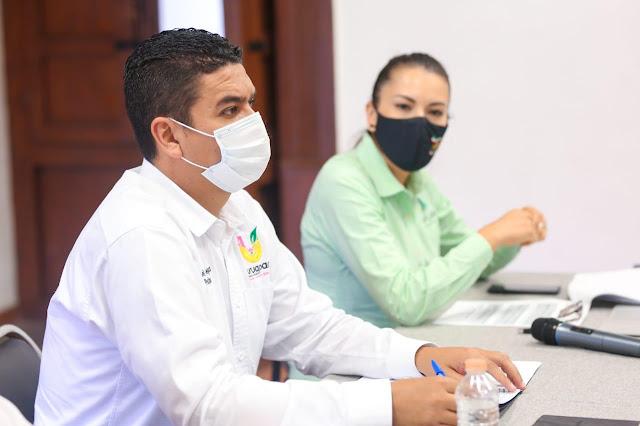 Miguel Paredes tomó protesta a Raúl Paz Álvarez como coordinador del Coplademun