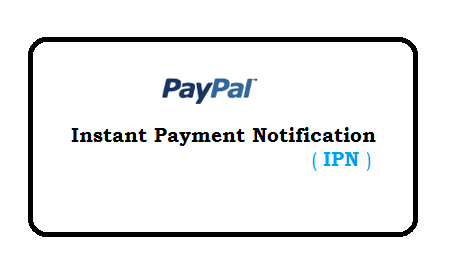 Instant Payment Notification paypal