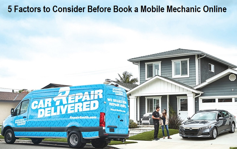 Book a Mobile Mechanic Online
