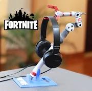 Soporte para auriculares Gamer de fortnite