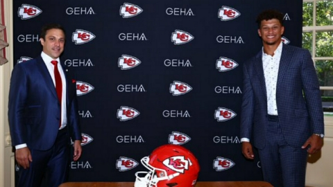 Chief quarterback Patrick Mahomes signs history's most lucrative sports deal