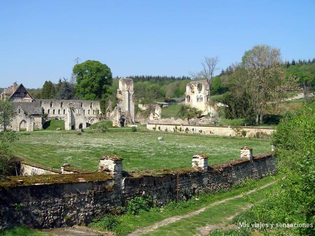 Abadía de Mortemer, Francia