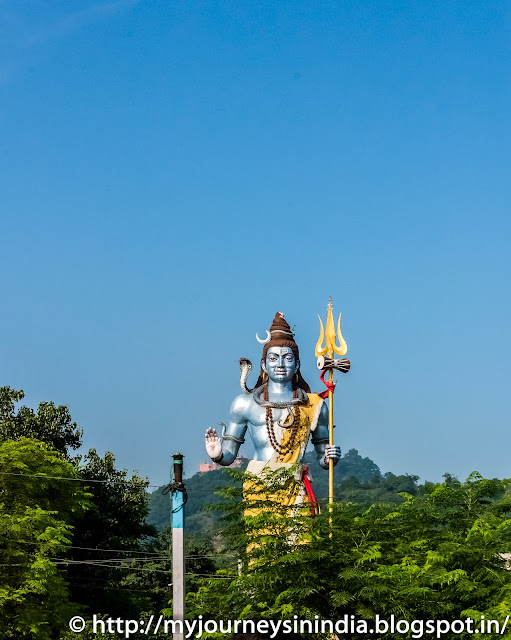 Lord Shiva statue near Har-Ki-Pauri Ghat Haridwar