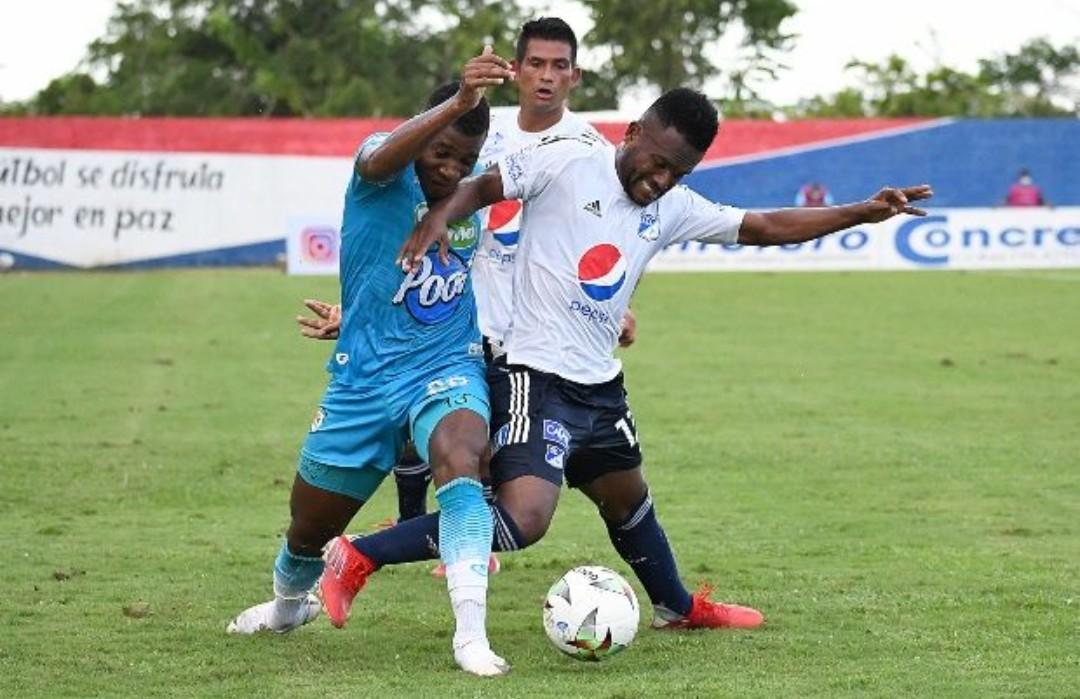 Jaguares venció 4-3 a Millonarios en el Jaraguay