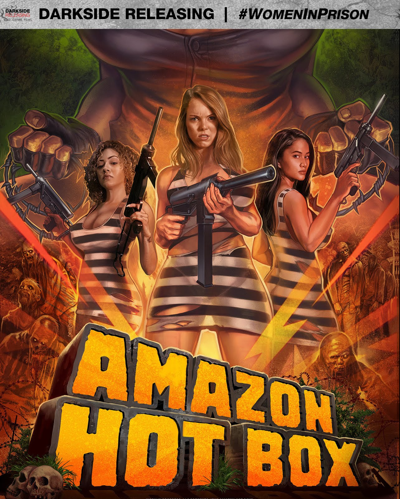 AMAZON HOT BOX - out now on Blu-ray!