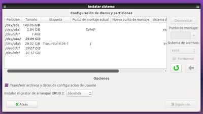 Systemback Instalar sistema3