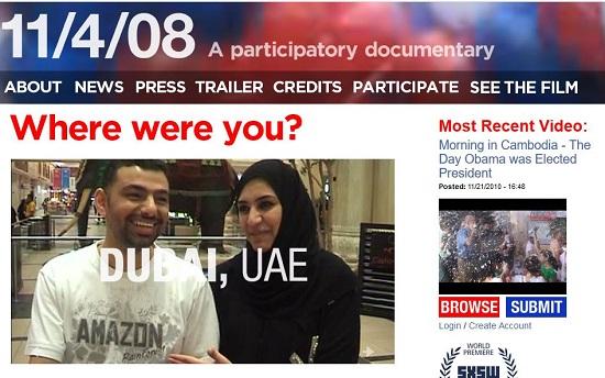 11/4/2008 Documentary Barack Obama's election